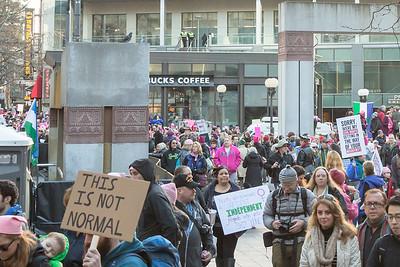 Jan 2017 - Womxn's March on Seattle