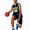 Senior Nanook basketball player Ladonavan Wilder poses for a portrait at the Patty Center gym.