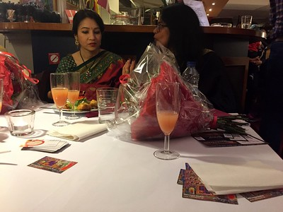 With Mrs Ambassador Priti Gupte