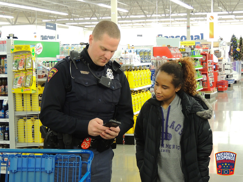 The annual Ozaukee County Shop with a Cop event was held at Meijer in Grafton, Wisconsin on Saturday, December 9, 2017. Photo by Asher Heimermann/Incident Response.