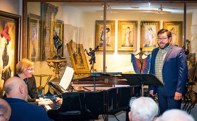 Christina Wright-Ivanova, piano, and John Nevergall, tenor