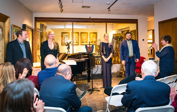 Performers take a bow at Portrait of a Power Couple, An Evening of Beethoven and Schubert