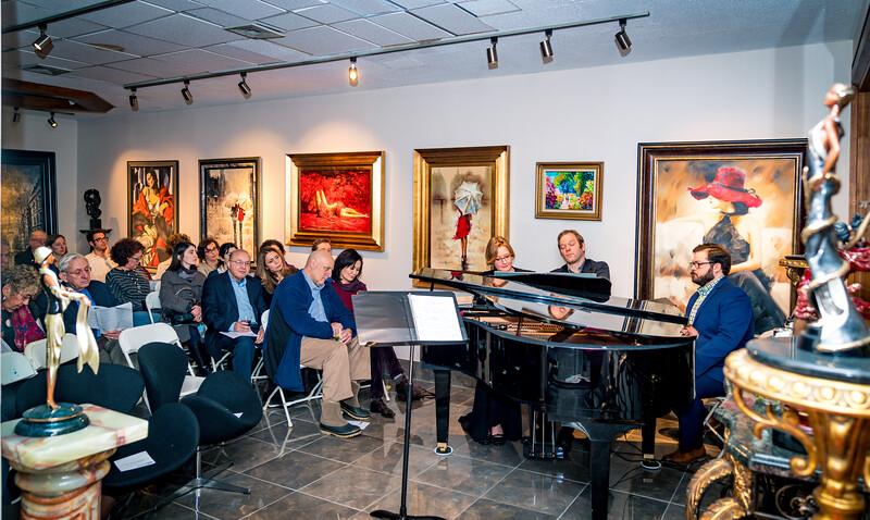 Bijou de la Vida was the setting for the Beethoven and Schubert concert