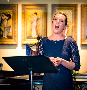 Soprano Sherri Snow, who is also Executive Director of  North End Music and Performing Arts Center (NEMPAC)