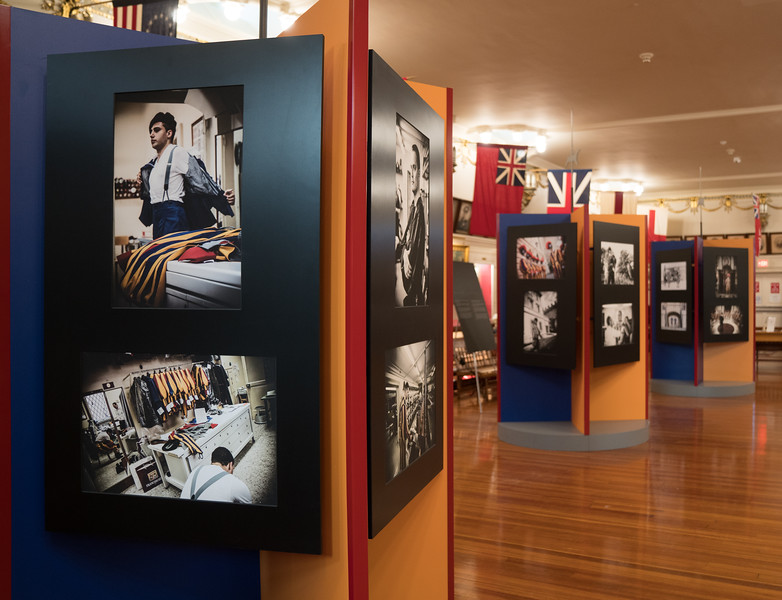 Over 80 photographs are on display as part of the exhibit.