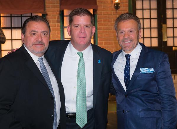 Boston Mayor Marty Walsh joins TONE co-chairs, Donato Frattaroli and Jim Luisi