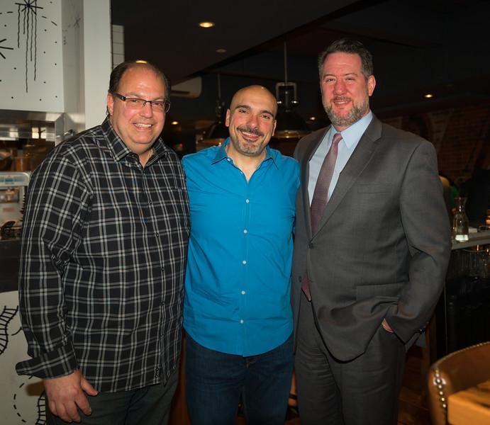 Dave, Maurizio and Jason