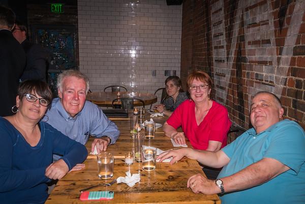 Sheila, Jim, Viv and Gerry