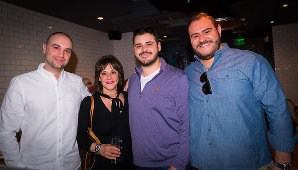 (L-R) Nick, Nancy, Gianni and Donato