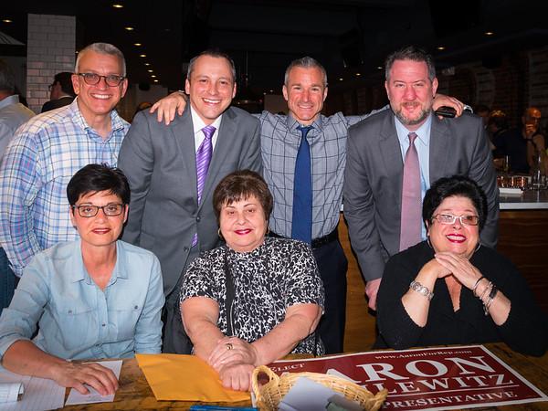 Standing: Paul, Aaron, Stephen & Jason ... Sitting: Berna, Michele and ReRe