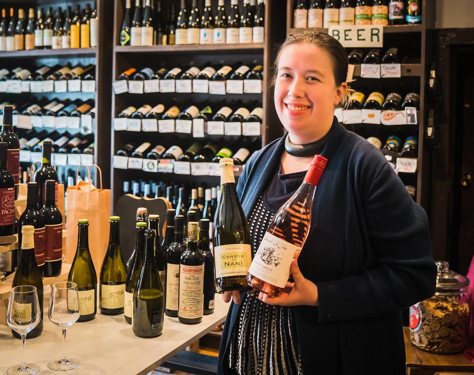 Kimberly, owner of the Wine Bottega