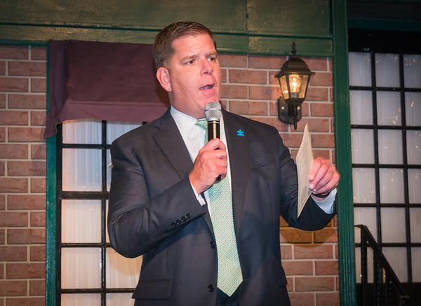 Boston Mayor Marty Walsh speaks at the 2017 Taste of the North End