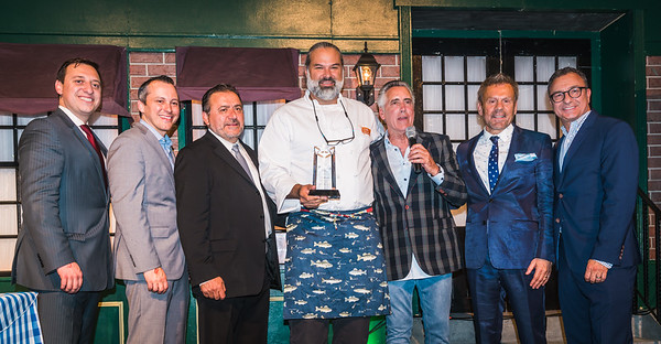 Honoring Jose Duarte as Restauranteur of the Year and Community Activist