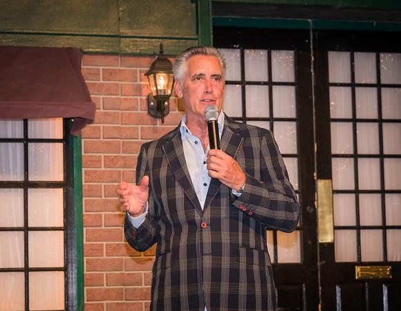 Host Billy Costa