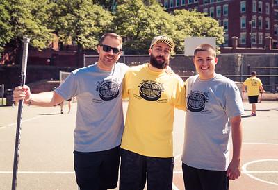 Organizers (L-R) Sal Gesamondo, Michael LoPriore and Justin Amoroso