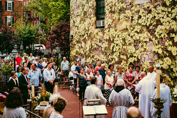 Outdoor Mass for Feast of Saint Anthony of Padua