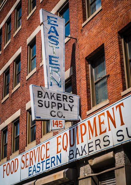 Eastern Bakers Supply Co. on N. Washington Street
