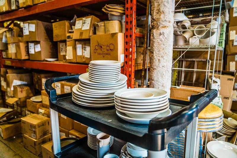 Dishware inventory