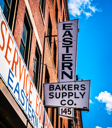 Eastern Bakers Supply Co. sign