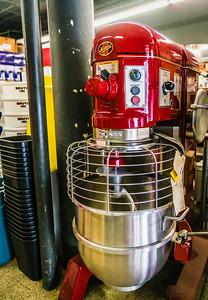 Hobart Red Mixer