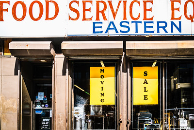 Food Service sign at Eastern Bakers Supply