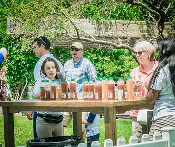 NESTEA bar at Christopher Columbus Park for Boston Harborfest
