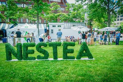"NESTEA brought their ""little house"" to Boston Harborfest"