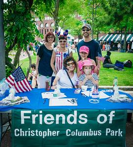 Friends of Christopher Columbus Park at Boston Harborfest