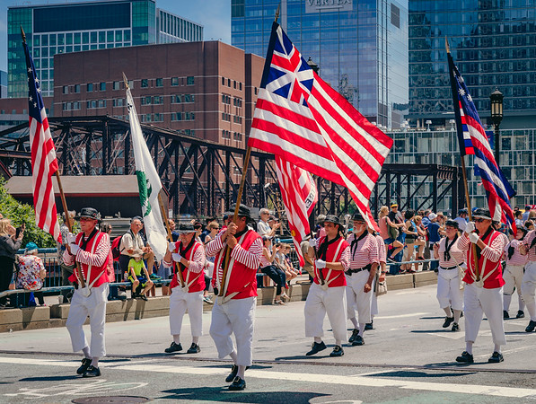 Crew & Cadet Parade in Downtown Boston