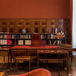 Ehemaliges Büro des Direktors der Postsparkasse Wien von Otto Wagner