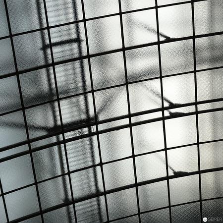 Dach in der Kassenhalle der Postsparkasse Wien von Otto Wagner