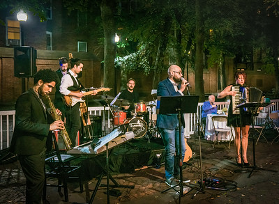 Stefano Marchese and the band Scanzonatti