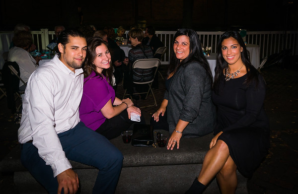 Friends and NEMPAC supporters at the Autumn Fall Soirée