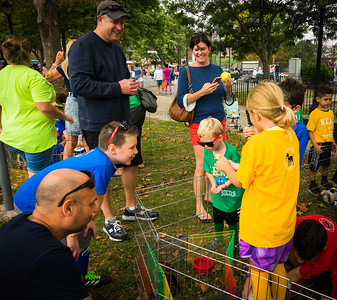 Petting zoo at NEAD Family Pride Day
