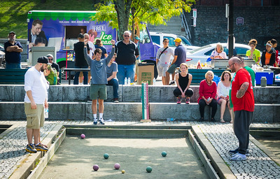 Red scores in Annual Johnny Paolo Bocce Tournament
