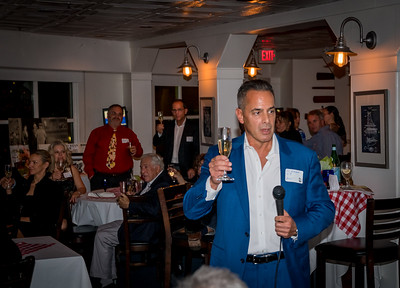 Ed Amaral gives the toast