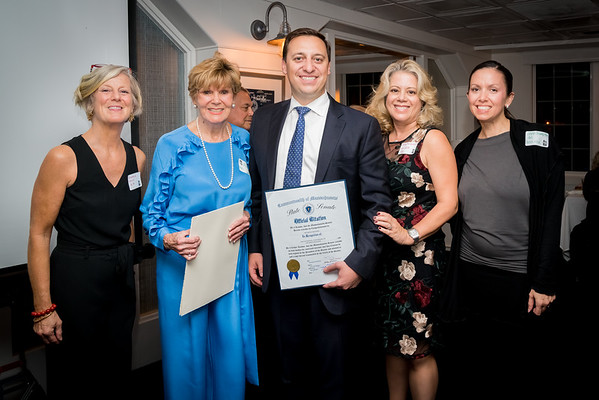 Official Citation from the State House presented by Senator Joe Boncore (L-R) Cynthia Malm, Ann Devlin Tagliaferro, Joe Boncore, Cathy McDonnell and Jennifer Crampton