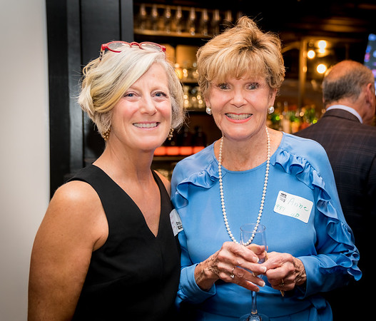 Cynthia Malm and Anne Devlin Tagliaferro at the 100th Birthday Party