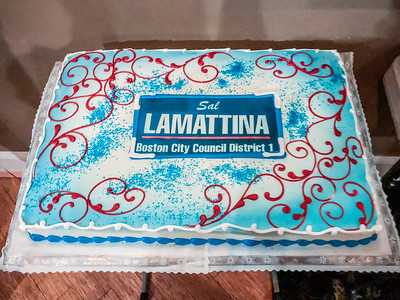 Cake for Sal LaMattina Farewell Celebration