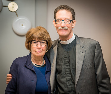 Steve Ayres with Anne Bailey Berman-Chair, Old North Foundation