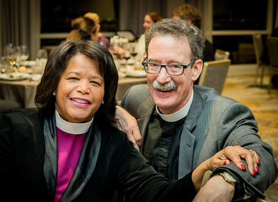 Bishop Gail Harris and Rev. Stephen Ayres
