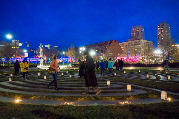 Candlelight Walk at the Labyrinth