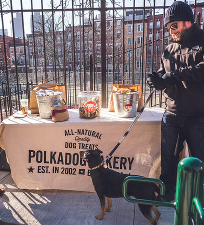 Polkadog Bakery brings treats to the North End dog park opening