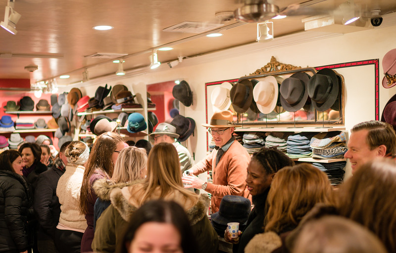 Hats Galore at SALMAGUNDI