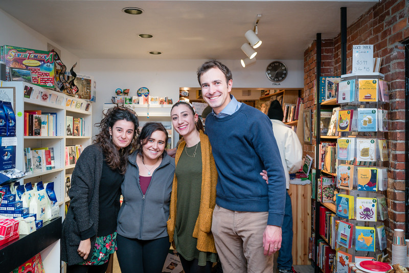 Crew at I AM Books