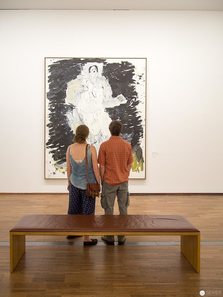 "Georg Baselitz - Albertina ""LOOK! New Acquisitions"" Ausstellung"