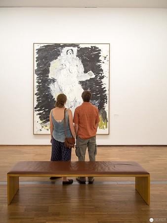 """Georg Baselitz - Albertina """"LOOK! New Acquisitions"""" Ausstellung"""