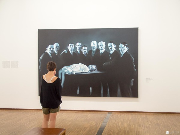 "Gottfried Helnwein - Albertina ""LOOK! New Acquisitions"" Ausstellung"