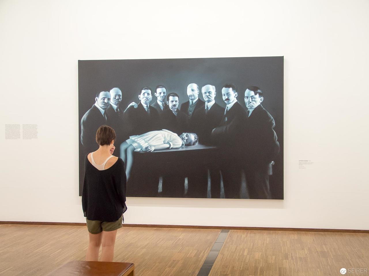 """Gottfried Helnwein - Albertina """"LOOK! New Acquisitions"""" Ausstellung"""