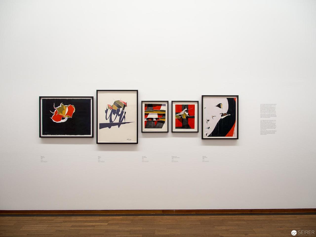 """Burhan_Dogancay - Albertina """"LOOK! New Acquisitions"""" Ausstellung"""